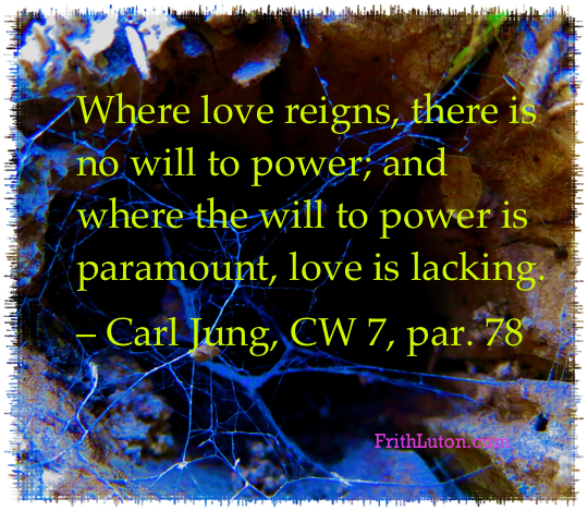 Quote from Carl Jung.