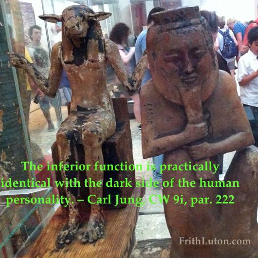 The inferior function is practically identical with the dark side of the human personality. – Carl Jung, CW 9i, par. 222