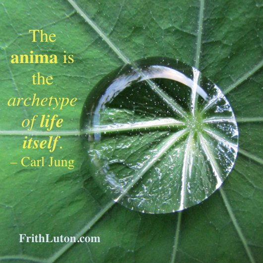 The anima is the archetype of life itself. – Carl Jung